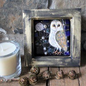 Mini moonlit owl SOLD